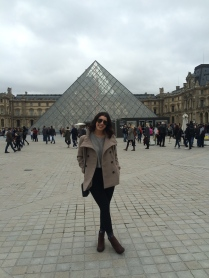 At the Louvre!